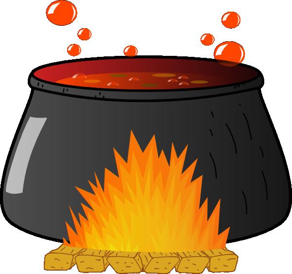 boiling cauldron clip art at clker com vector clip art online rh clker com black cauldron clipart cauldron clip art free