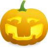 Jack O' Lantern With Teeth Clip Art