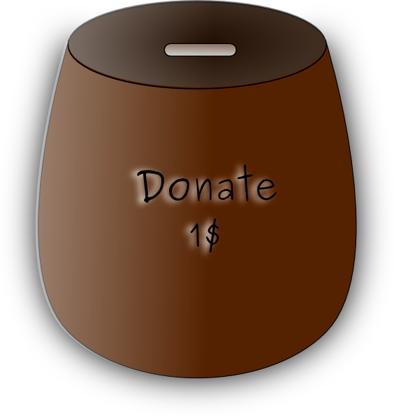money donation clipart - photo #27