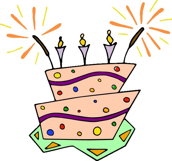 Birthday Cake Clip Art Purple : Purple Pink Birthday Cake Clip Art at Clker.com - vector ...