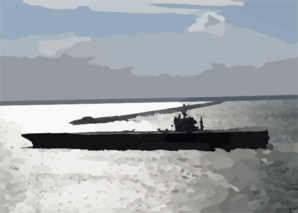 The Uss George Washington (cvn 73), Sails Past The Chesapeake Bay Bridge Tunnel On The Way To Sea, As It Prepares For The Composite Training Unit Exercise (comptuex) In The Atlantic Ocean Clip Art