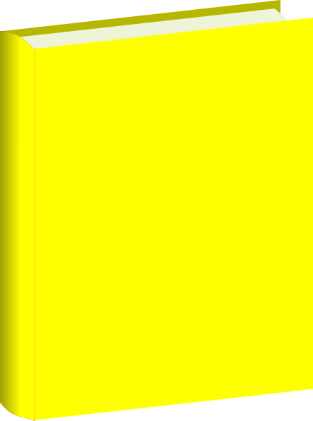 Yellow Book Clip Art at Clker.com - vector clip art online, royalty ...