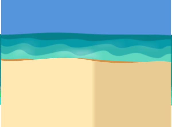 Beach Scene Blank Clip Art at Clker.com - vector clip art ...