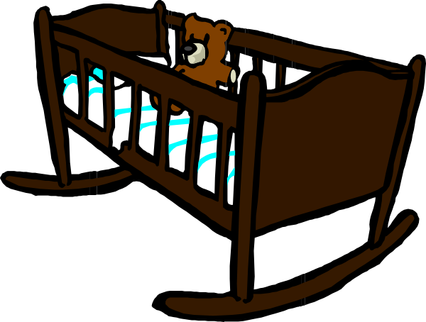 Brown Crib Clip Art at Clker.com - vector clip art online, royalty ...