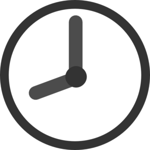 Clock 8:00 Transparent Clip Art