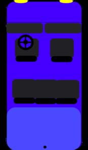 Blue Car Top View Clip Art At Clker Com Vector Clip Art