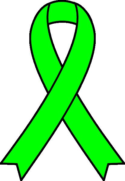 free clip art green ribbon - photo #3