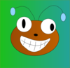 Happy Bug Clip Art