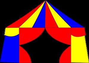 Big Top Tent Clip Art  sc 1 st  Clker & Big Top Tent Clip Art at Clker.com - vector clip art online ...