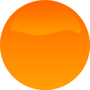 Orange Button 3 Clip Art