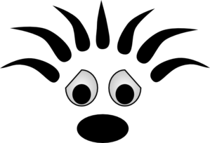 Scared Cartoon Face Clip Art