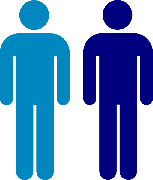 Blue Person Symbol Clip Art at Clker.com - vector clip art ...
