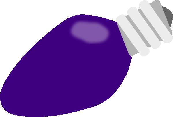 purple christmas lightbulb clip art at clker com vector clip art rh clker com christmas bulb clipart free christmas bulb clipart black and white