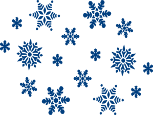 blue snowflakes clip art at clker com vector clip art online rh clker com snowflake clipart free no background Snowflake Patterns