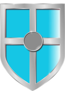 Turquoise Shield Clip Art