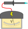 High Voltage Probe Clip Art