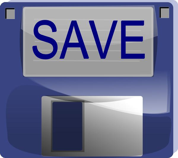 save button clip art at clkercom vector clip art online