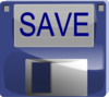 Save Button Clip Art
