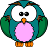Cute Owl Cartoon Clip Art