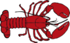 Lobster Outline - Indesign Clip Art