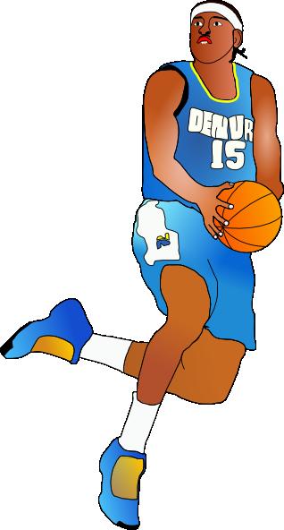 basketball player clip art at clker com vector clip art online rh clker com basketball player clipart free basketball player clipart free