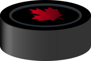 Hockey Puck Canada Clip Art