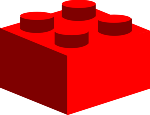 Red Lego Clip Art