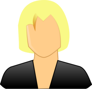 Woman User Clip Art
