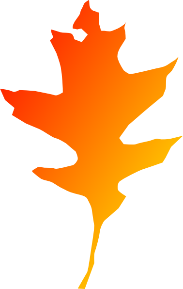 orange leaf clip art - photo #9