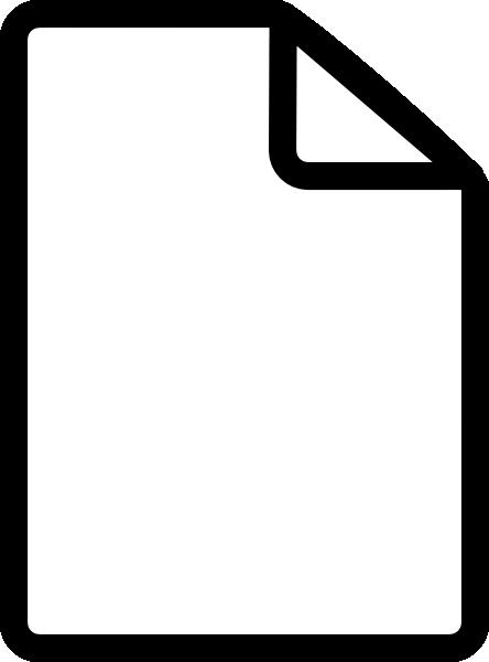 New File Simple Clip Art at Clker.com - vector clip art ...