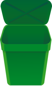 Njoynjersey Mini-car Game Green Trash Can @aabbaart.com Clip Art