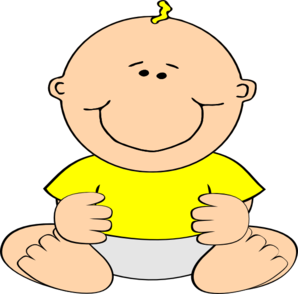 baby smiling clip clipart domain clker cliparts bechler shared