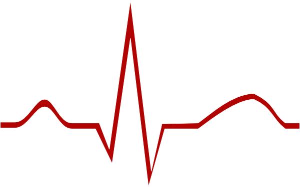 ekg clip art at clker com vector clip art online royalty free rh clker com heartbeat clipart images heart rate clip art free