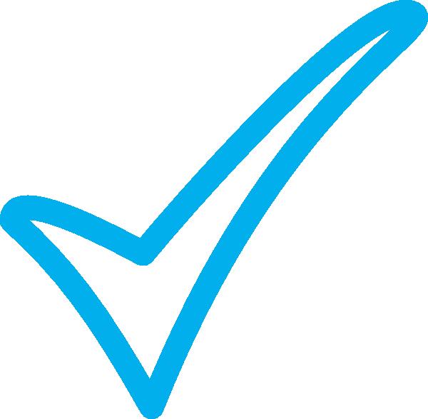 Image result for blue tick
