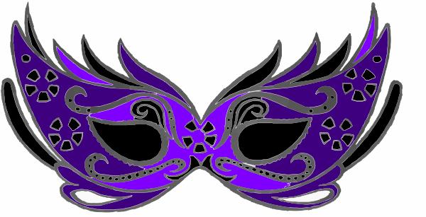 Masquerade Clip Art at Clker.com - vector clip art online, royalty ...