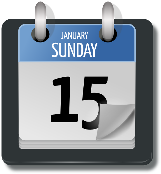 Calendar Day Vector Art : Calendar clip art at clker vector online