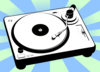 Turntable Dj Rcord Player Clip Art