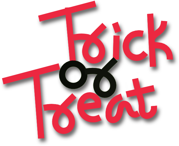 Halloween Trick or Treat Clip Art