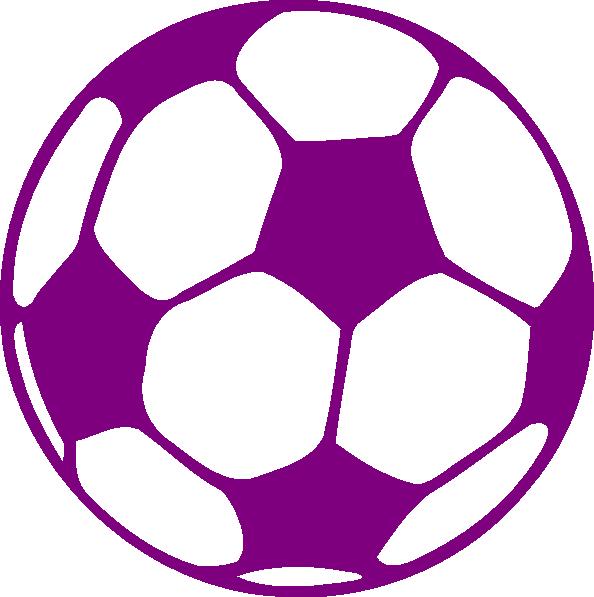 purple soccer ball clip art at clker com vector clip art online rh clker com soccer ball clip art transparent background soccer ball clip art no background