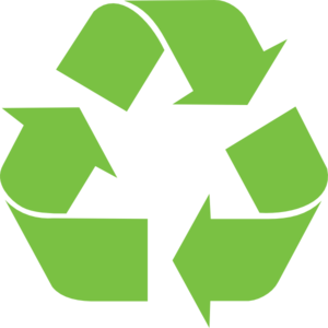 Green Recycle Sign Clip Art