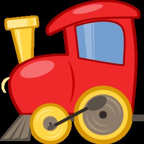 Loco Train clip art - vector clip art online, royalty free ...