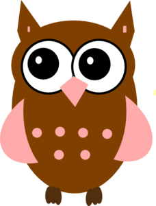 pink owl clip art at clker com vector clip art online royalty rh clker com free clipart images of owls free printable clipart of owls