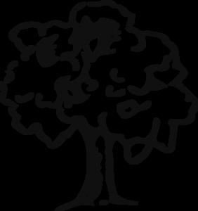 Tree Outline Clip Art at Clkercom vector clip art online royalty