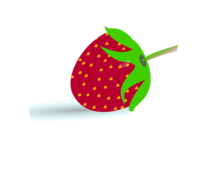 Small Strawberry Clip Art