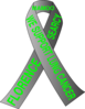 Lung Cancer Ribbon Mamoo Clip Art