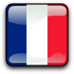 France Button Clip Art