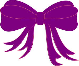 Purple Ribbon Clip Art