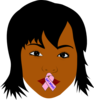 African American Woman Speak Life Clip Art