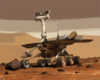 Mars Rover Explores The Red Planet Clip Art