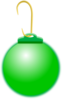 Green Ornament Clip Art